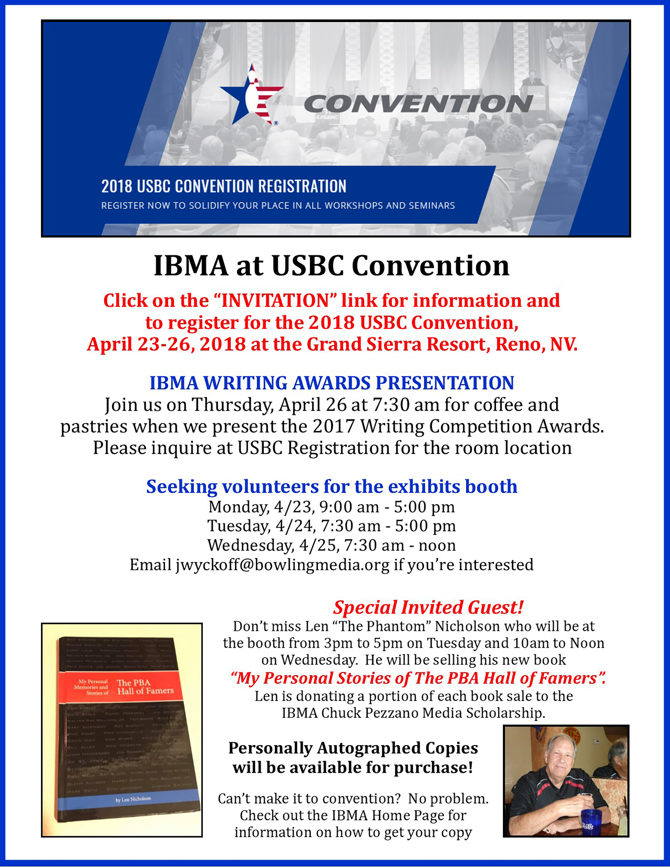 USBC Convention Banner